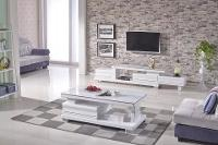 lifestyle white entertainment unit | ausmart online | nunawading, Melbourne