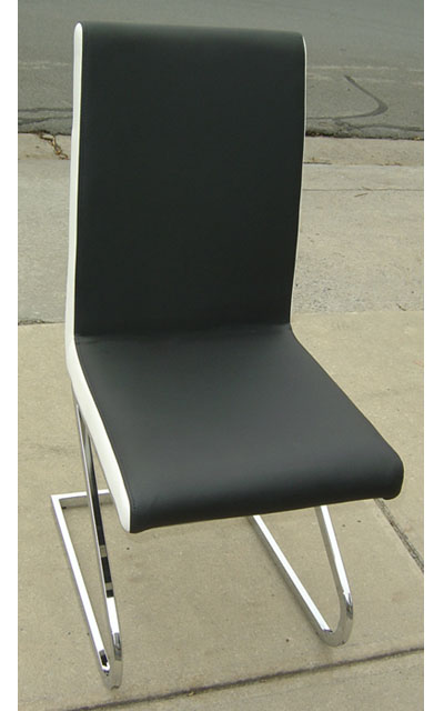 black white dining chairs | ausmart online | nunawading, melbourne