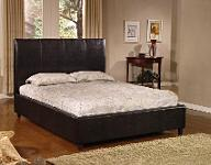 leather bed: eva