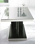 dining table: black knight