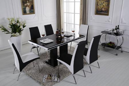 1.5m dining table dining chairs