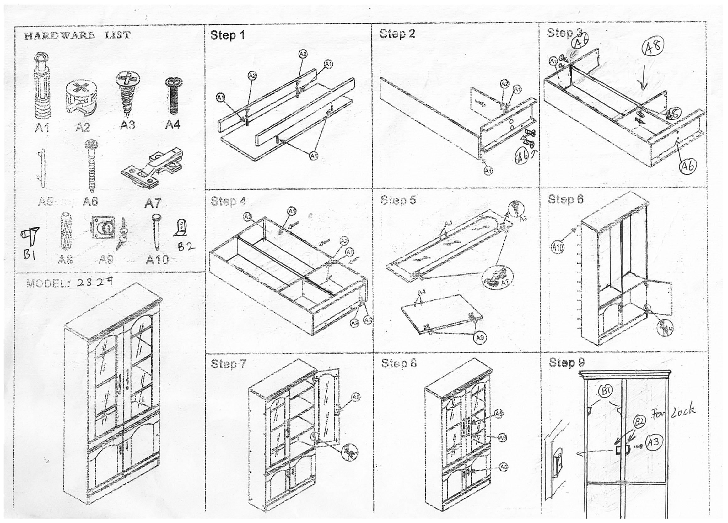 installation diagram uff1a office furniture melbourne