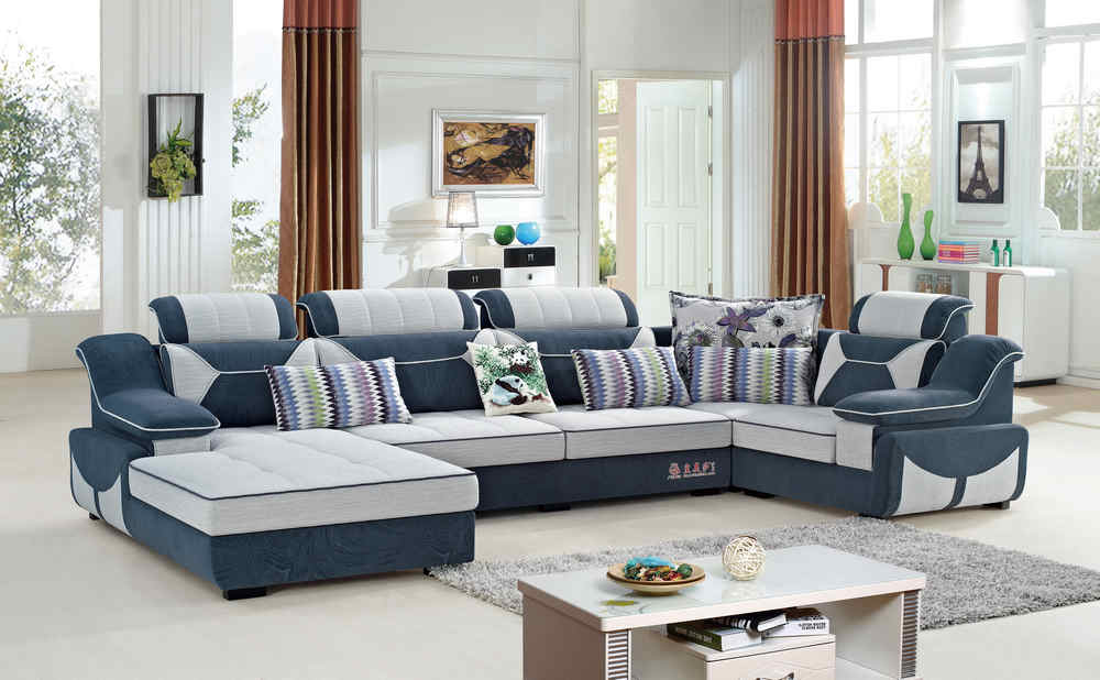 9065U fabric lounge suite