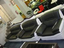 black white lounge suite A237