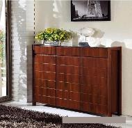 712 dark brown shoe cabinet